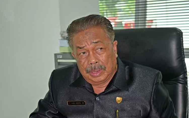 Wakil Ketua DPRD Kalteng M Asera