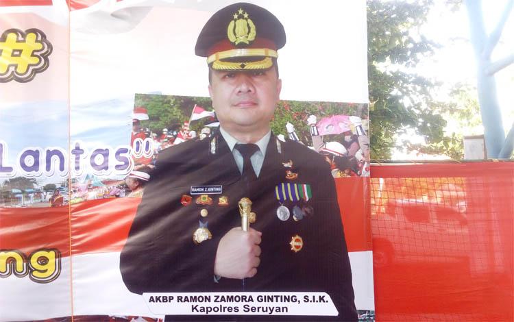 Kapolres Seruyan AKBP Ramon Zamora Ginting