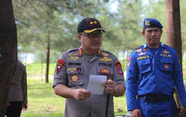 Kapolres Seruyan, AKBP Ramon Zamora Ginting.
