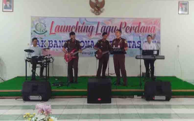 Grup Band Kejaksaan Negeri Palangka Raya.