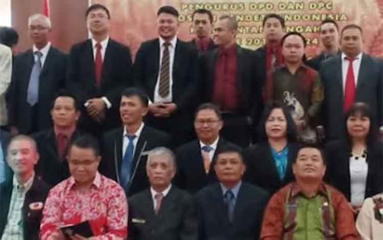 Pengrus DPD API Provinsi Kalteng masa bakti 2019-2024.