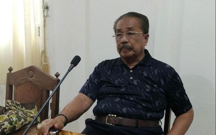 Wakil Ketua Komisi B DPRD Kalteng, M Asera.