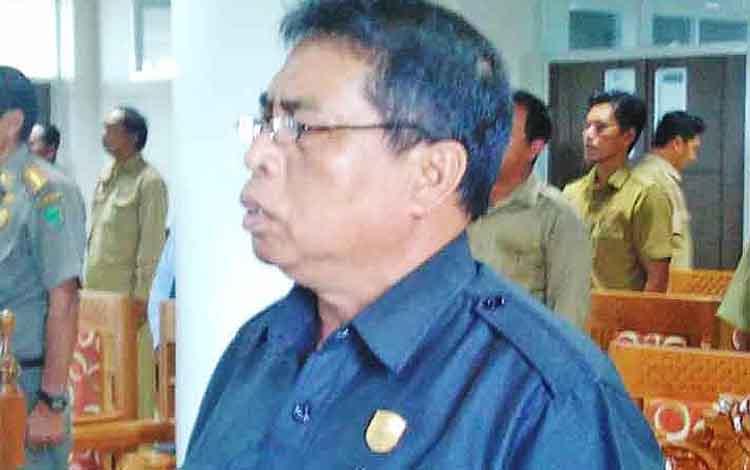 Anggota DPRD Pulang Pisau Johansyah.