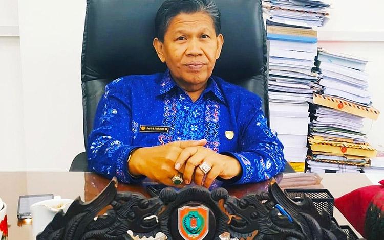Anggota Komisi A DPRD Kalteng, HM Fahruddin.