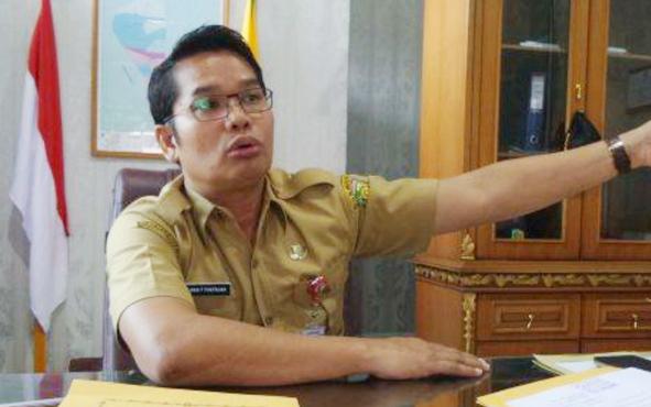 Inspektur Inspektorat Kota Palangka Raya Alman Pakpahan.
