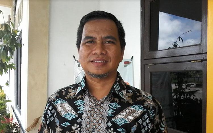 Ketua KPU Kabupaten Katingan, Usman Sitepu.