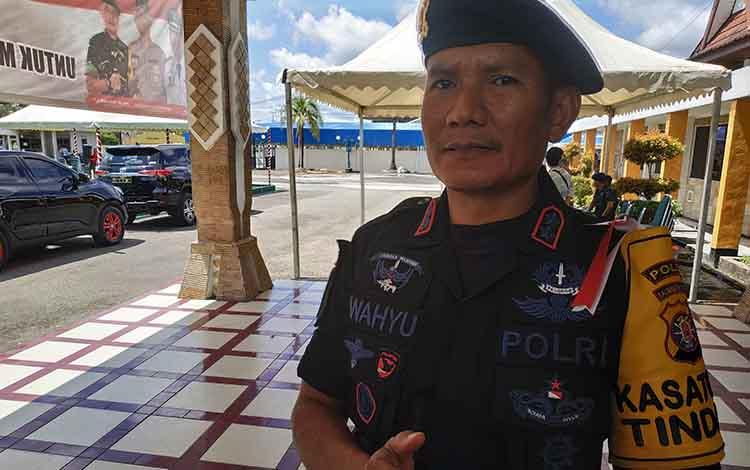 Wadansat Brimob Polda Kalimantan Tengah AKBP Wahyu Widiarso Suprapto.