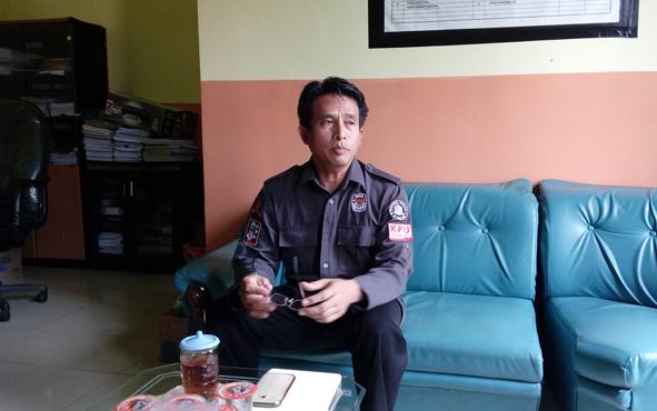 Ketua KPU Seruyan Agus Sukron Ma\'mun.