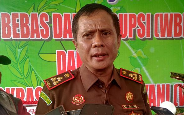 Kepala Kejaksaan Negeri Palangka Raya Zet Tadung Allo.