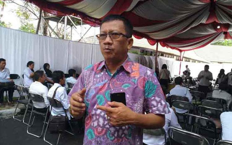 Kepala Badan Kepegawaian Daearah (BKD) Provinsi Kalimantan Tengah (Kalteng) Katma F Dirun