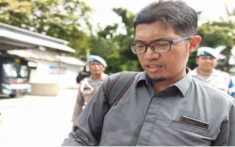Komisioner KPU Kalteng, Wawan Wiraatmaja