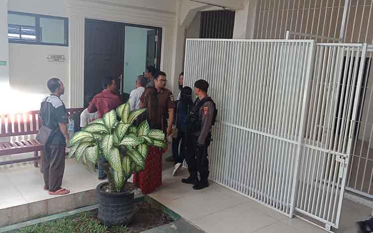 Suasana sel di Pengadilan Negeri Sampit