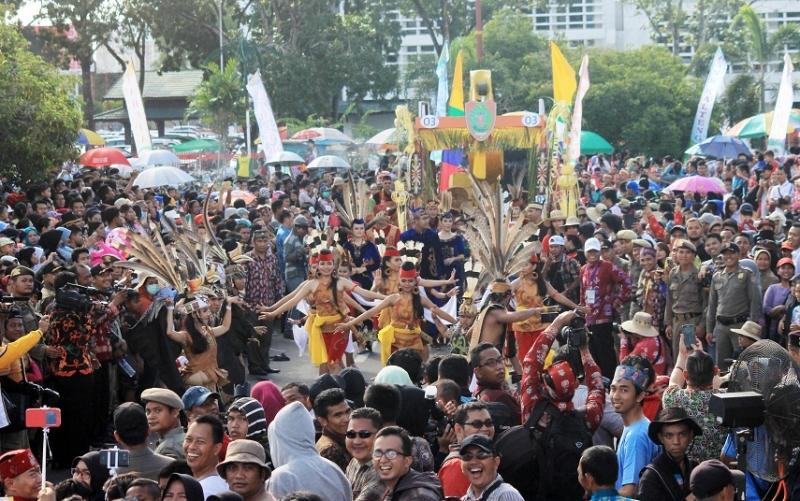 Festival Budaya Isen Mulang Kalteng tahun 2016.