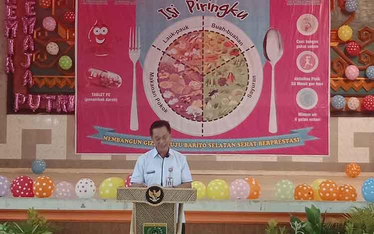 Dinas Kesehatan Barito Selatan Canangkan Program Isi ...