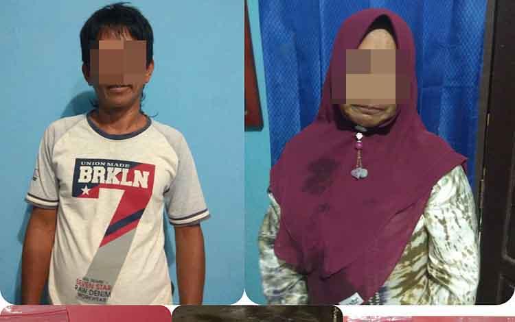 Dua budak sabu beserta barang bukti sabu telah diamankan di Polres Bartim untuk proses hukun lebih lanjut dan pengembangan kasus.