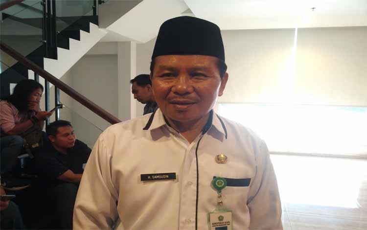 Kepala Kantor Kementerian Agama Kotim Syamsudin