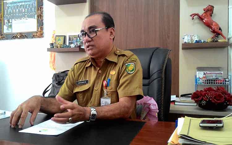 Kepala Dinas Koperasi dan UKM Kota Palangka Raya, Afendie.