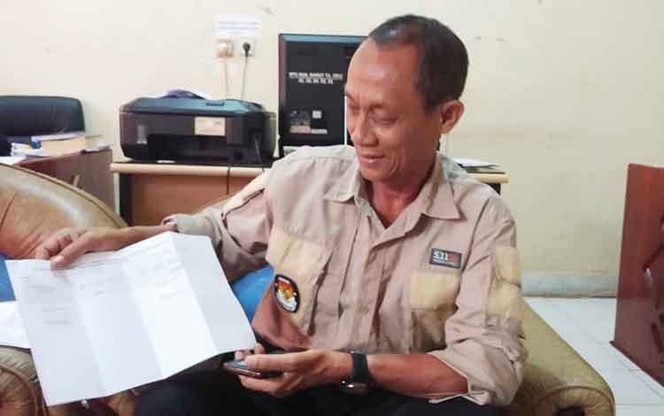 Plt Ketua KPU Baraito Utara, David Suisdarto