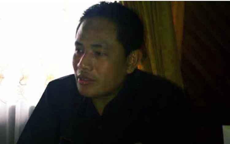 Anggota DPRD Provinsi Kalteng Anggor D Purnomo.