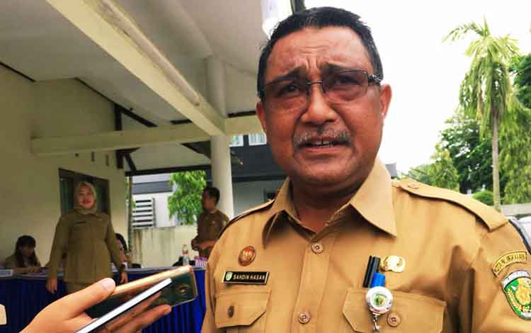 Kepala DPPKBP3A Kota Palangka Raya, Sahdin Hasan