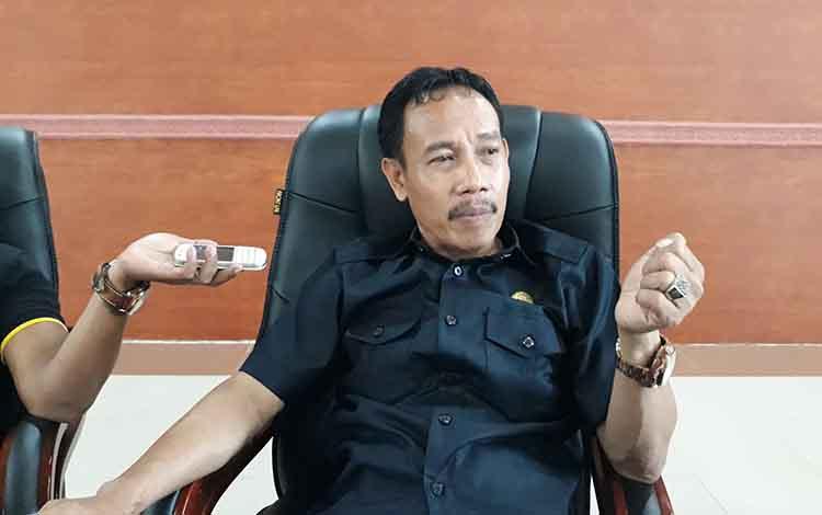 Ketua Tim Pansus DPRD LKPj tahun anggran 2018, Wahyudinata.