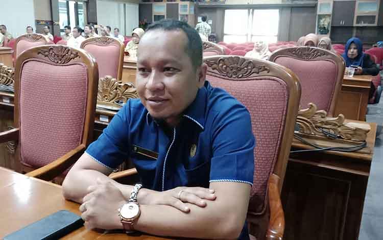 Anggota DPRD Kotawaringin Timur Syahbana.