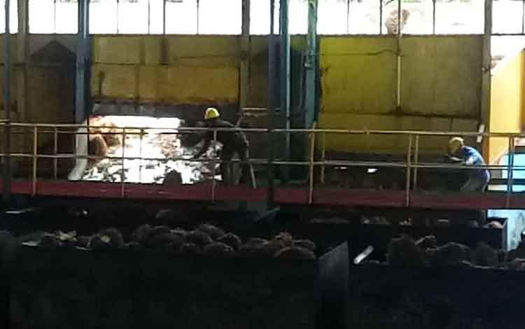 Pabrik Kelapa Sawit Sulung milik PT Sawit Sumbermas Sarana Tbk