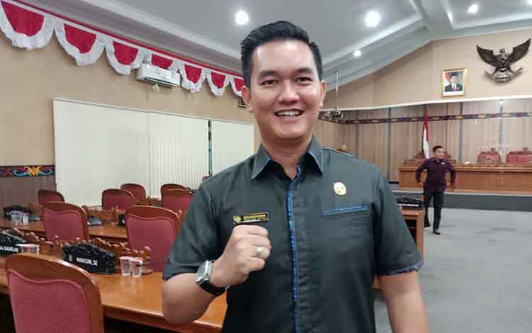 Anggota DPRD Kotim, Hero Harapanno Mandouw