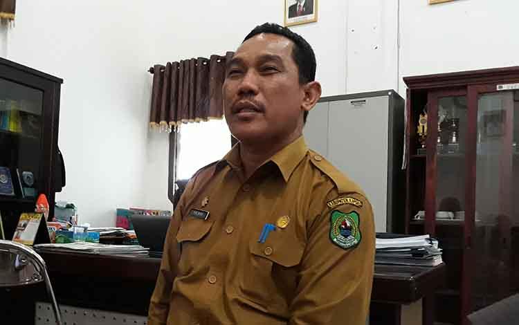 Sekretaris DPRD Kapuas, Salman.