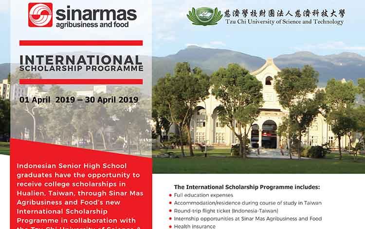 Beasiswa agribisnis ke Taiwan.