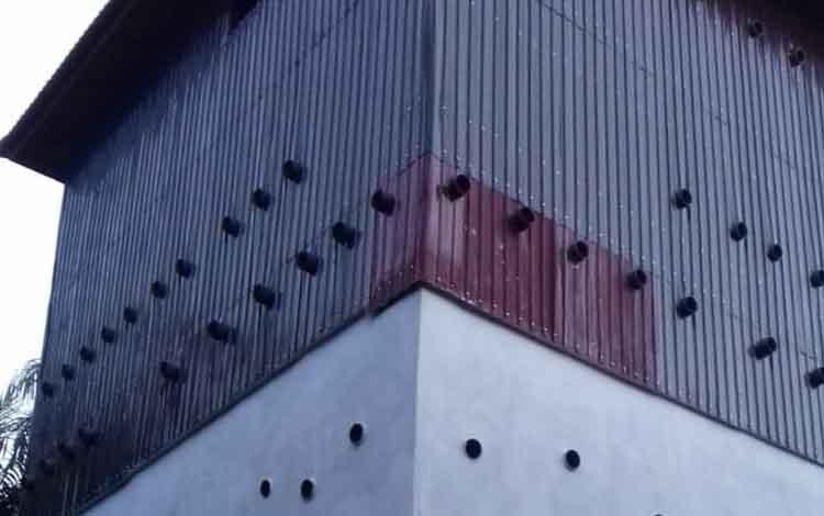 Bangunan sarang walet milik pengusaha di Kotim.