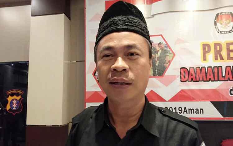 Ketua Bawaslu Kalteng Satriadi