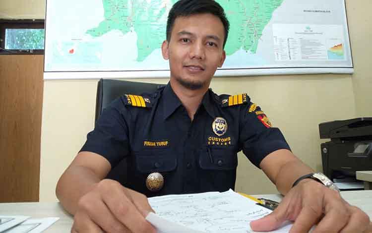 Kepala Seksi Penindakan dan Penyidikan KPPBC Firman Yusuf.