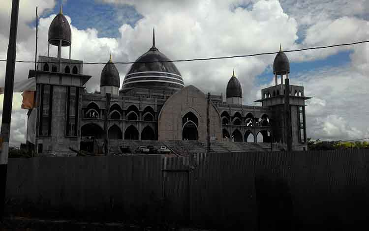 Masjid Kecubung, Kota Palangka Raya.