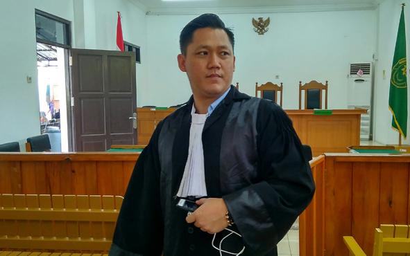 Suriansyah Halim, penasihat hukum mantan bupati Katingan Akhmad Yantenglie.