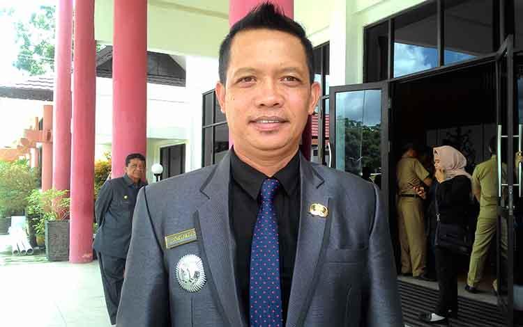 Camat Jekan Raya, Kota Palangka Raya, Saipullah.