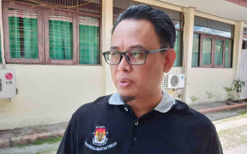 Ketua KPU Kalimantan Tengah, Harmain Ibrohim.