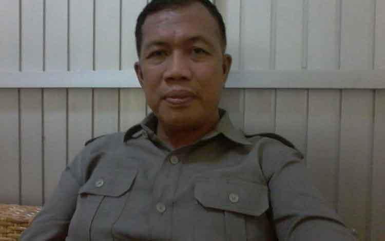 Ketua KPU Kabupaten Katingan, Subandi.