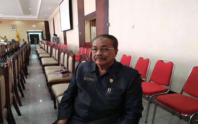 Wakil Ketua Komisi B DPRD Kalteng, Asera