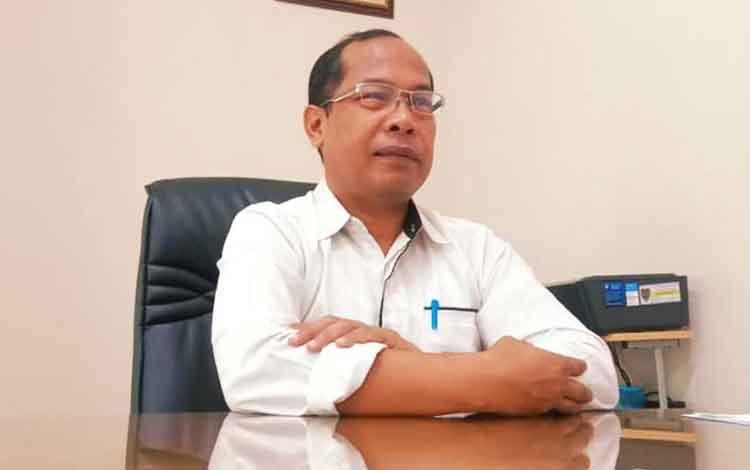 Kepala Dinas Kesehatan Kalteng Suyuti Syamsul