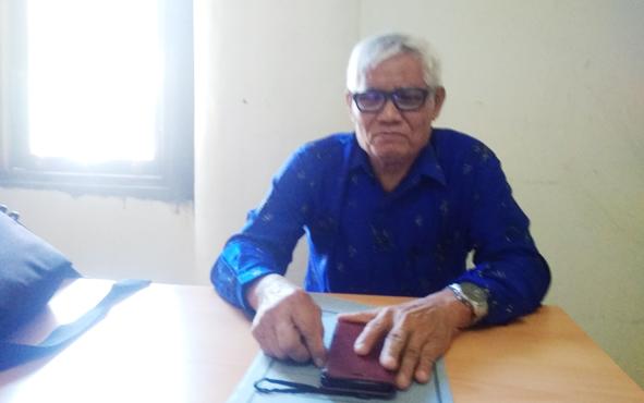 Anggota DPRDKabupaten Barito Timur Unriu Ngubel.