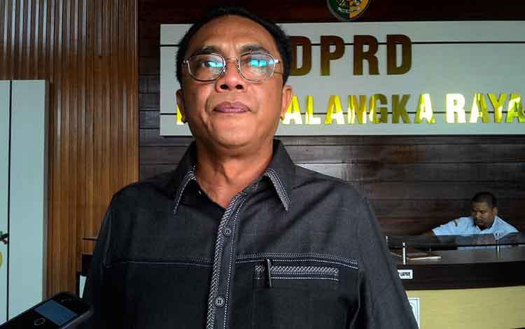 Sekretaris DPC PDI Perjuangan Kota Palangka Raya, Sigit K Yunianto.