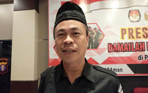 Ketua Badan Pengawas Pemilu KaltenhSatriadi.