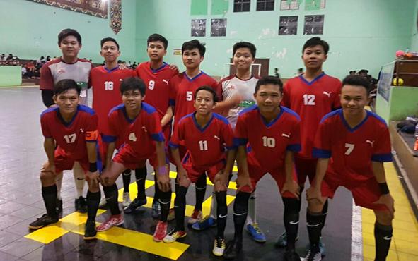 Tim Futsal SMAN 1 Kurun.