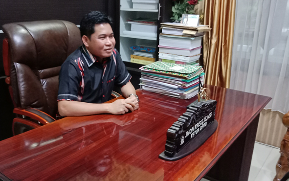 Ketua DPRD Kabupaten Kotawaringin Timur M Jhon Krisli.