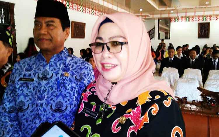 Kepala Disbudpar Kota Palangka Raya Norma Hikmah.