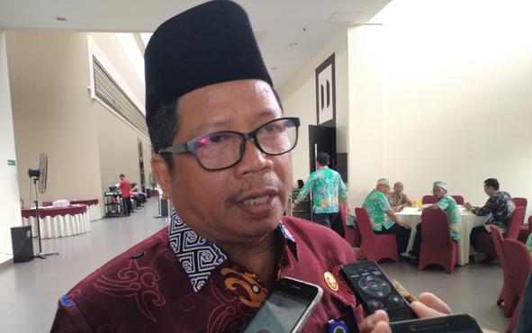 Kepala Kanwil Kemenag Kalteng Masrawan.