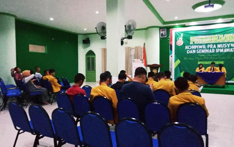 Musyawarah Wilayah IPM ke-VIII di Gedung Pimpinan Wilayah Muhamadiyah (PWM) Palangka Raya