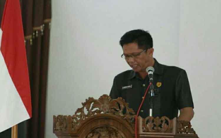 Anggota DPRD Seruyan, Bambang Yantoko.