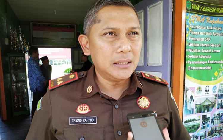 Kepala Kejaksaan Negeri Pulang Pisau Triono Rahyudi.